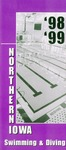 98-99 Northern Iowa Swimming & Diving by University of Northern Iowa