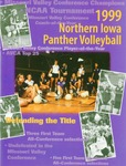 1999 Northern Iowa Panther Volleyball by University of Northern Iowa