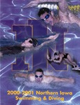 2000-2001 Northern Iowa Swimming & Diving by University of Northern Iowa