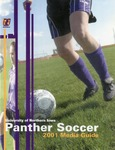 Panther Soccer 2001 by University of Northern Iowa