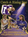 2001 Northern Iowa Volleyball Media Guide