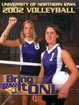 University of Northern Iowa 2002 Volleyball
