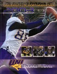 2003 UNI Panther Football