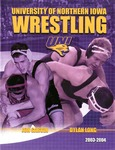 University of Northern Iowa Wrestling 2003-2004 red by University of Northern Iowa
