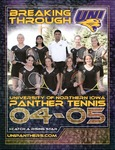 Panther Tennis 2004-05 by University of Northern Iowa