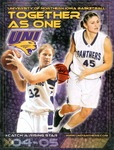 University of Northern Iowa Women's Basketball 2004-05 by University of Northern Iowa