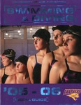Swimming & Diving '05-'06 Media Guide