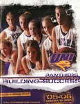 Women's Basketball '05-'06 Media Guide by University of Northern Iowa
