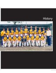 History (University of Northern Iowa Softball 1974-2018) by University of Northern Iowa