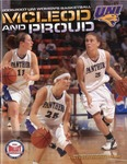 2006-2007 UNI Women's Basketball by University of Northern Iowa