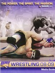 UNI Wrestling 2008-09 Media Guide