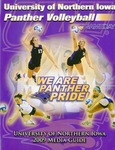 University of Northern Iowa Panther Volleyball 2009 Media Guide by University of Northern Iowa