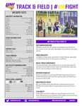 2020-21 UNI Track & Field Record Book by University of Northern Iowa