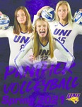 Panther Volleyball Spring 2021 by University of Northern Iowa