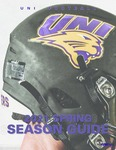 UNI Football 2021 Spring Season Guide by University of Northern Iowa
