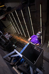 Bower metalworker photo by Sam Castro