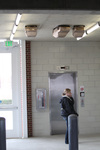 Convenient Parking by Jim Benedict inside Multi-Modal Center