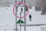 Iowa Cycles in winter photo by Sam Castro