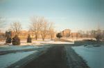 Distant color photo of ITC sculpture 1990
