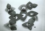 Metal Wall Sculpture closeup