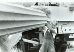 Porta Largo installation August 1985 by Bill Witt