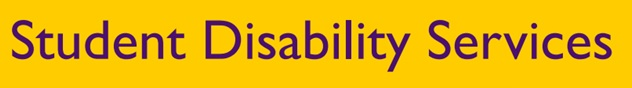 Student Disability Services Campus Newsletter