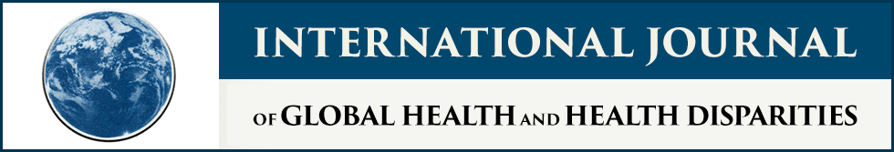 International Journal of Global Health and Health Disparities
