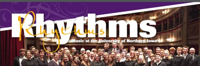 Rhythms: Music at the University of Northern Iowa