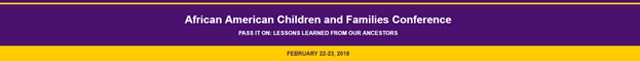 2018 African-American Children & Families Conference