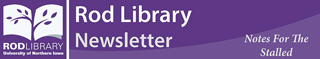 Rod Library Newsletter