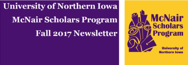 McNair Scholars Program at UNI Newsletter