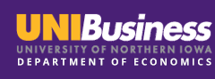 University of Northern Iowa Department of Economics