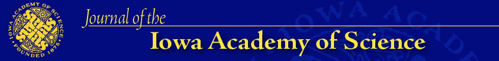 The Journal of the Iowa Academy of Science: JIAS