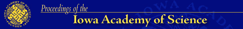 Proceedings of the Iowa Academy of Science