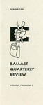 Ballast Quarterly Review, v07n3, Spring 1992 by Roy R. Behrens