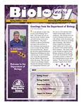 Biology News, Spring 2016 by University of Northern Iowa. Department of Biology.