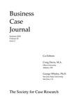 Business Case Journal, v25n2, Summer 2018