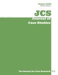 Journal of Case Studies, v38n1, Winter 2020