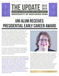 The Update, October 2012 by University of Northern Iowa. College of Humanities, Arts and Sciences.