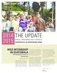 The Update, October 2014 by University of Northern Iowa. College of Humanities, Arts and Sciences.