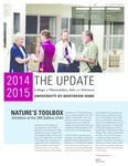 The Update, October [November] 2014 by University of Northern Iowa. College of Humanities, Arts and Sciences.