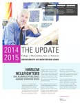 The Update, December 2014 by University of Northern Iowa. College of Humanities, Arts and Sciences.