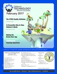 Children's Technology Review, issue 203, v25n2, February 2017