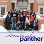 International Panther Newsletter, Spring 2014 by University of Northern Iowa. Culture and Intensive English Program.