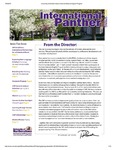 International Panther Newsletter, Spring 2013 by University of Northern Iowa. Culture and Intensive English Program.