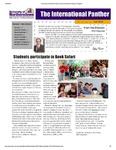 International Panther Newsletter, Fall 2011 by University of Northern Iowa. Culture and Intensive English Program.