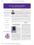 International Panther Newsletter, Spring 2010 by University of Northern Iowa. Culture and Intensive English Program.