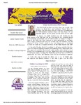 International Panther Newsletter, Fall 2010 by University of Northern Iowa. Culture and Intensive English Program.