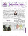 International Panther Newsletter, Spring 2009 by University of Northern Iowa. Culture and Intensive English Program.