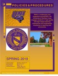 UNI Schedule of Classes, Spring 2019 by University of Northern Iowa